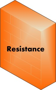 Resistance Happens. What do you do with it?