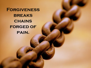 Forgiveness is often misunderstood.