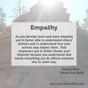 Empathy, Understand, Good Choices, Peace