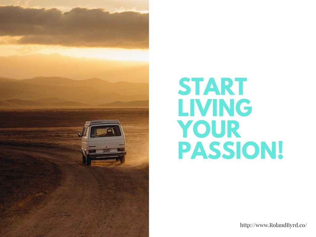 Start Living Your Passion