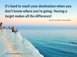 It's hard to reach your destination when you don't know where going