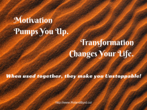 Motivation and Transformation