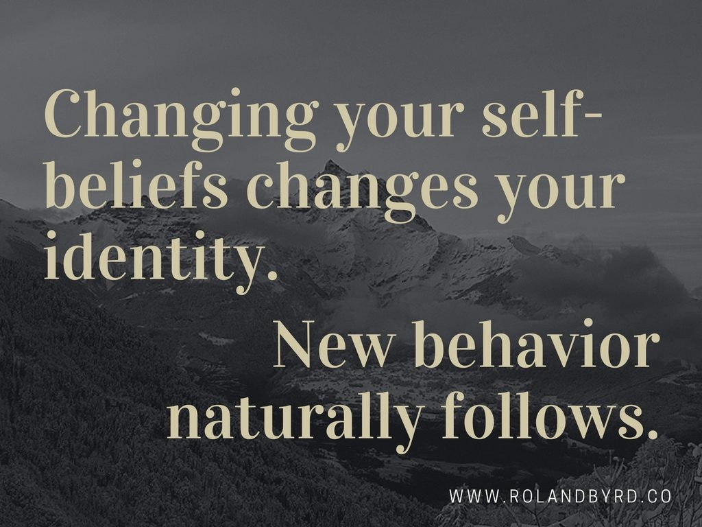 New Beliefs Create New Behavior